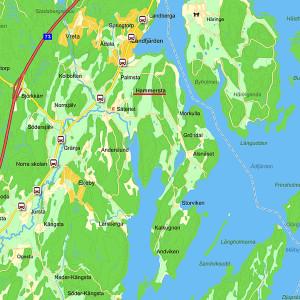 Hammersta karta